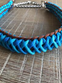 Blauw/bruin