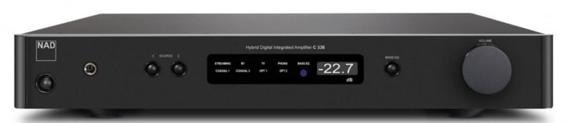 NAD C338 STREAMING VERSTERKER + ANALOOG/PHONO