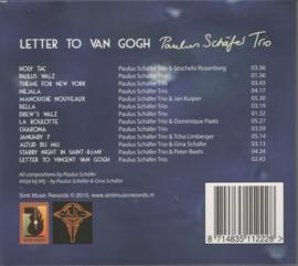 Paulus Schäfer Trio – Letter to van Gogh