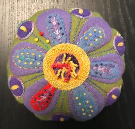 Sue Spargo Flower Pincushion kit