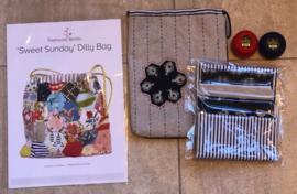 Sweet Sunday Dilly Bag, hexagon