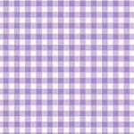 Gingham lilac