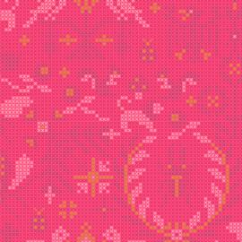 Sunprints  A9387-E salmon