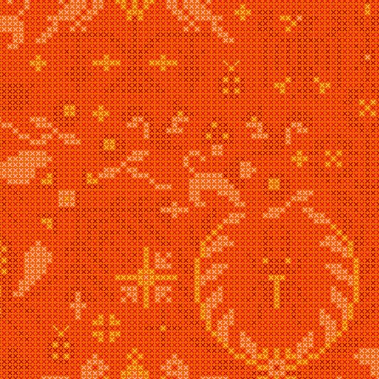 Sunprints A9387-O tiger