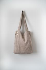 Taupe Rib Bag
