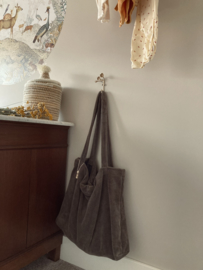 Nieuw! Brown Bamboo Bag