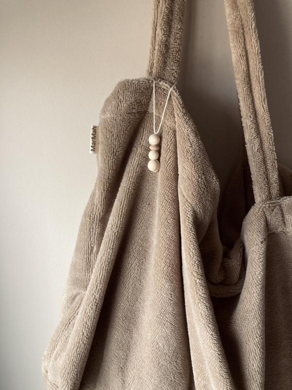 Nieuw! Taupe Bamboo Bag