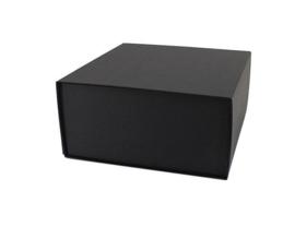 Luxe geschenkdoos met magneetsluiting zwart