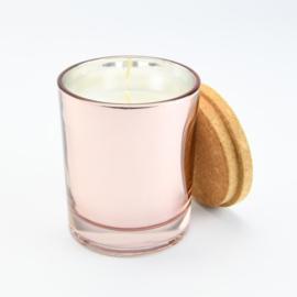 Mini geurkaars rosé