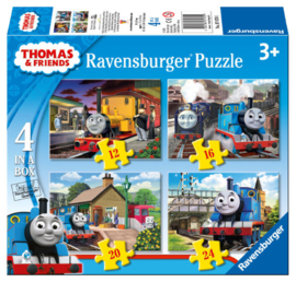 Ravensburger - Thomas and friends - 4 puzzels