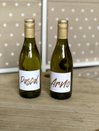 Flesje wijn 25 cl