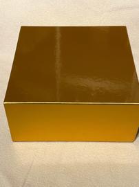 Luxe geschenkdoos met magneetsluiting goud