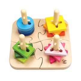 Hape - Creatieve pin puzzel