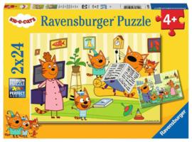 Ravensburger - puzzel KID E CATS - 2 puzzels