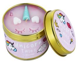 Bomb Cosmetics - Unicorn tales tin candle – eenhoorn kaars