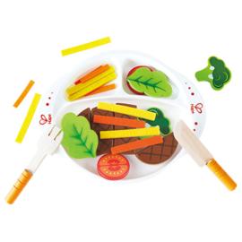Hape - Steak en groenten