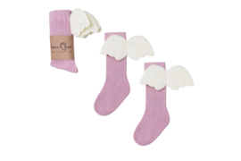 Kniekousen Angels - Pink