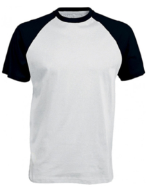 T-shirt met raglan mouwen