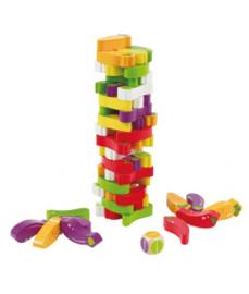 Hape - Groenten stapelspel