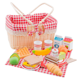 New Classic Toys - Picknickmand Set - 27 delig