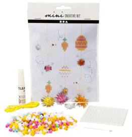 Mini Creative Kit - creatief met kralen hangende decoratie