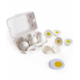 Hape - Set van 6 eieren