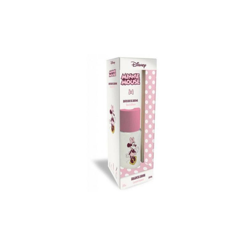 Disney - Geurstokjes Minnie Mouse 100 ml hout/glas roze