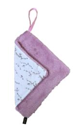 Speendoek roze/katjes