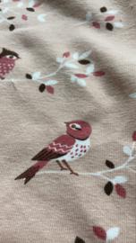 Vogels roze legging