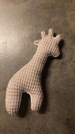 Giraffe grijs/wit