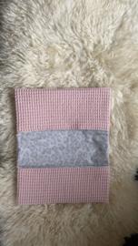 Luieretui roze/panter