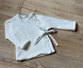 Overslag shirtje off white