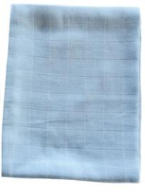 Hydrofiele doeken 6 stuks blauw