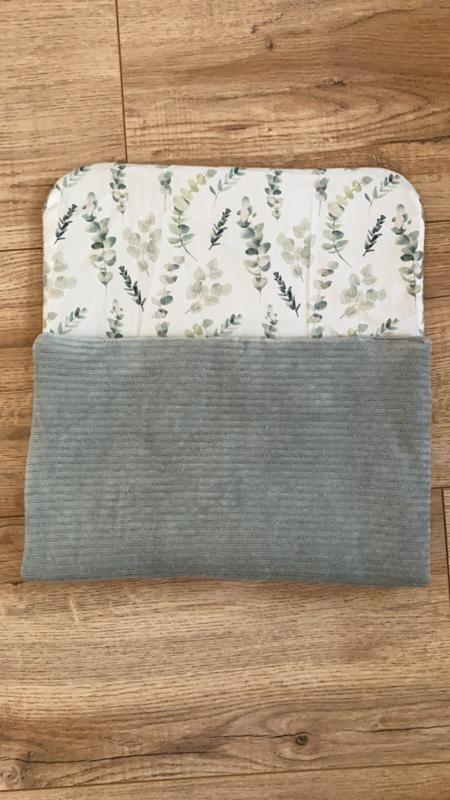 Matrasje rib mint/eucalyptus