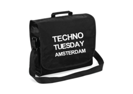 Techno Tuesday Amsterdam record bag