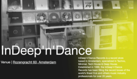 ADE 2021 - 13-17 October at InDeep'n'Dance Records Store