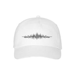 Audio wave baseball cap