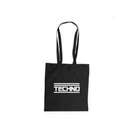 Techno tote bag