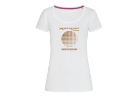"""InDeep'n'Dance Records """"Circle"""" t-shirt woman body fit"""