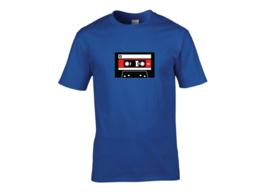 Cassette tape t-shirt men