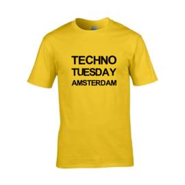 Techno Tuesday Amsterdam t-shirt men