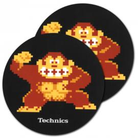 Slipmats (1 pair) / Technics Donkey Kong