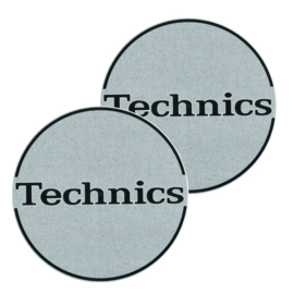 Slipmats (pair) Technics Outbrake Silver Classic