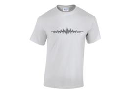 Audio wave t-shirt men