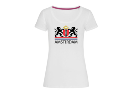 Amsterdam Coat of Arms t-shirt woman body fit
