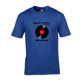 "InDeep'n'Dance Records ""Vinyl"" t-shirt men"
