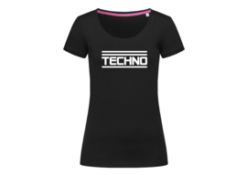 Techno t-shirt woman body fit