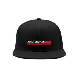 Amsterdam flag snapback cap