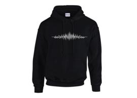 Audio wave hoodie