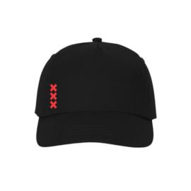 Amsterdam crosses baseball cap